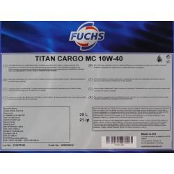Fuchs titan cargo maxx 10w40